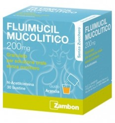 FLUIMUCIL MUCOLITO BUSTINE 200MG