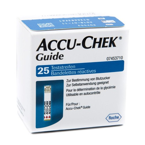 ACCU-CHEK GUIDE 25 STRIPS