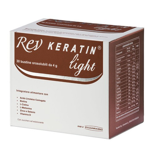 Rev Keratin Light 30 Bustine