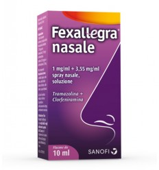 Fexallegra Nasale 1 Mg/ml + 3,55 Mg/ml Spray Nasale