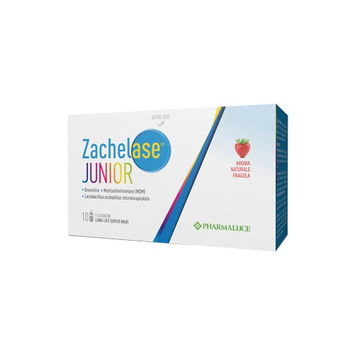 Zachelase Junior 10 Flaconcini Da 10 ML