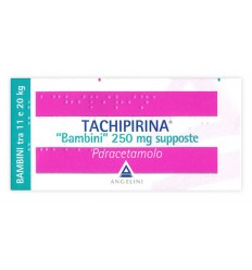 Tachipirina Bambini 250MG Supposte