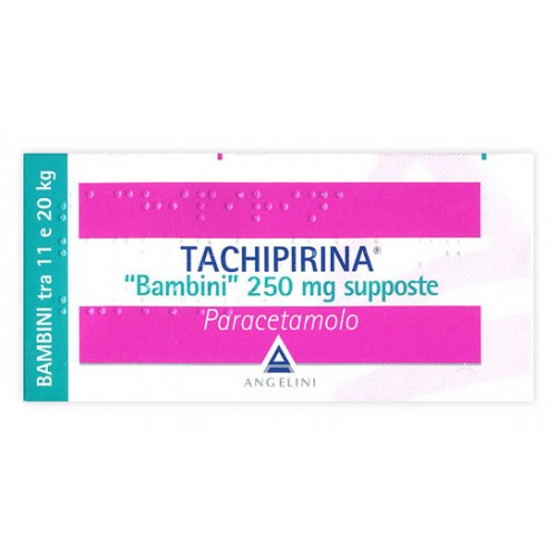 012745042-Tachipirina Bambini 250MG Supposte