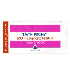 Tachipirina Bambini 500MG Supposte