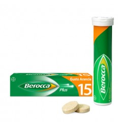 BEROCCA PLUS 15 COMPRESSE EFFERVESCENTE