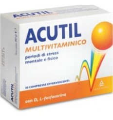 ACUTIL MULTIVITAMINICO 20 COMPRESSE EFFERVESCENTE