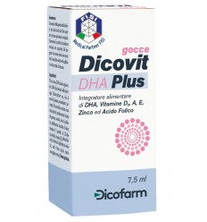 DICOVIT DHA PLUS 7,5 ML