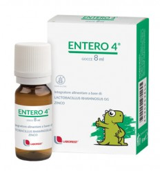 ENTERO 4 GOCCE 8 ML