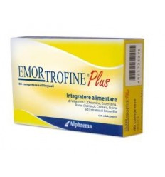 Emortrofine Plus 40 Compresse Sublinguali