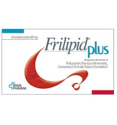 FRILIPID PLUS 30 COMPRESSE DA 650 MG