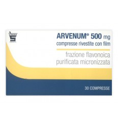 ARVENUM 500 MG COMPRESSE